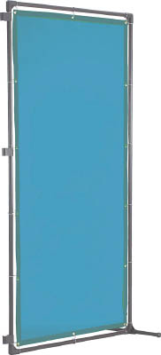 TRUSCO 溶接遮光フェンス 2020型接続固定足 青【YFASK-B】(溶接用品・溶接遮光フェンス)