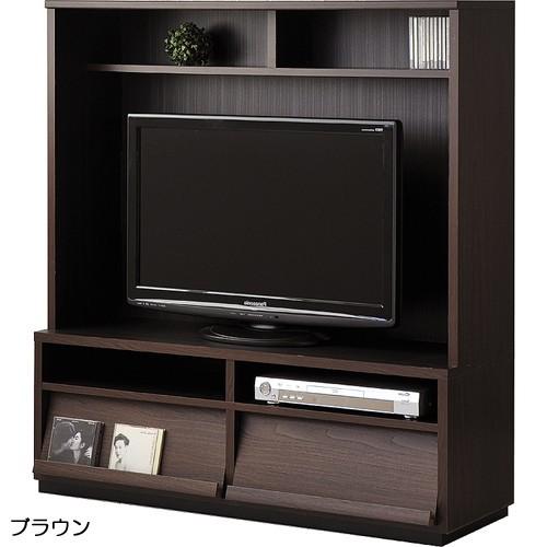 【wal-fit ウォルフィット】 TVキャビネット WF-1212TV  ブラウン (代引不可)【送料無料】