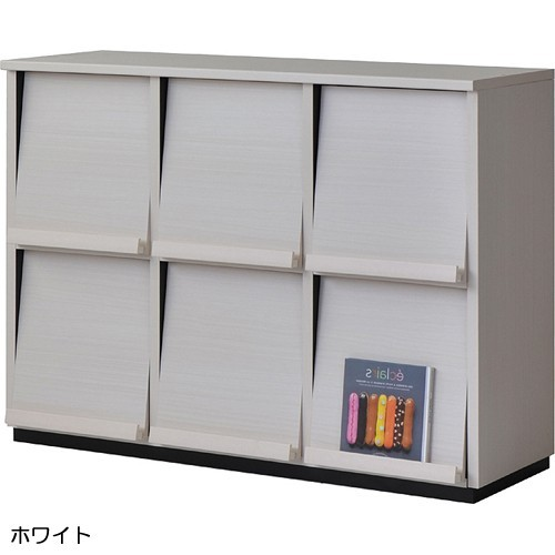 【wal-fit ウォルフィット】 キャビネット WF-8012DP  ホワイト (代引不可)【storage0901】【送料無料】