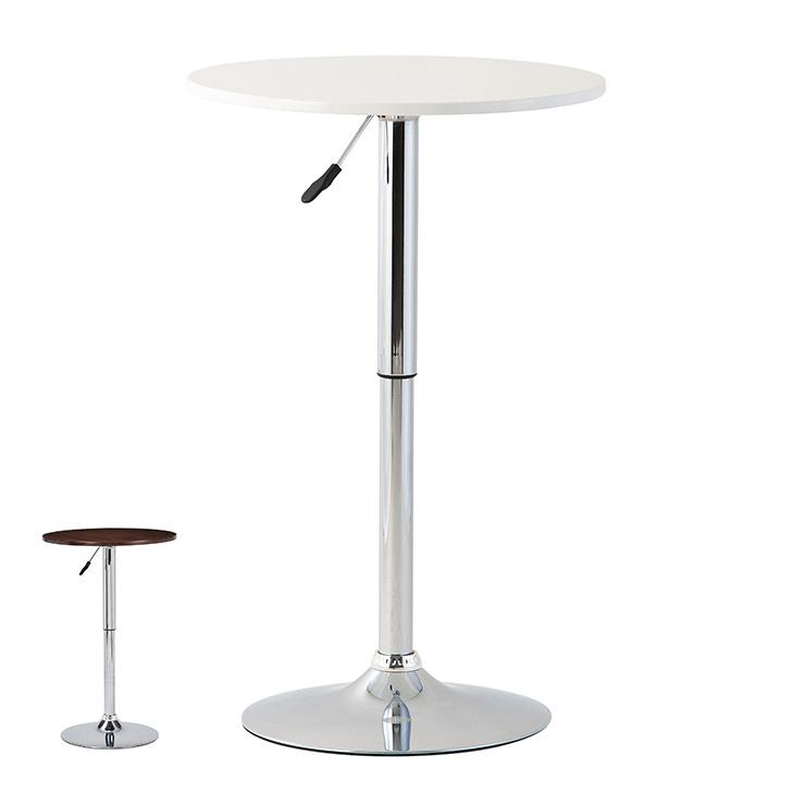 ティーテーブル テーブル 机 昇降式 バーテーブル コーヒーテーブル シンプル おしゃれ 北欧 飲食店 カフェ(代引不可)【送料無料】