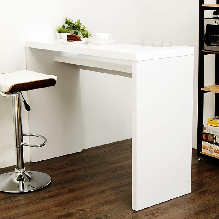 カウンターテーブル バーカウンターテーブル バーテーブル バーカウンター ボトルホルダー ホワイト RD-T8630(代引不可)【送料無料】
