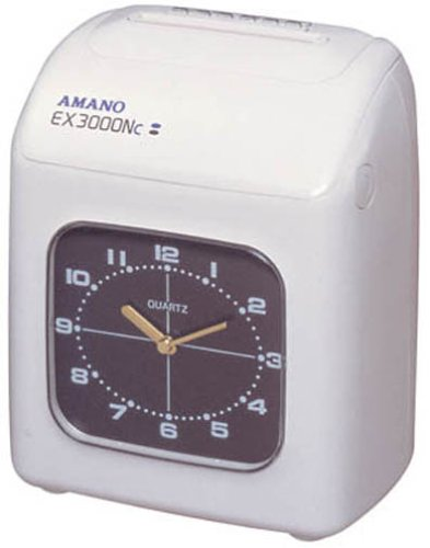 アマノ 電子タイムレコーダー EX3000NC-W