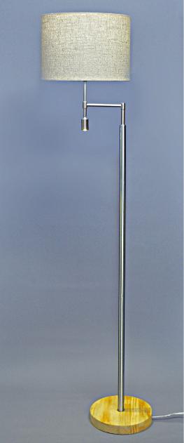 フロアスタンドライト 照明 ライト リビング F0120ND LEDライト おしゃれ ベージュ(代引不可)【送料無料】