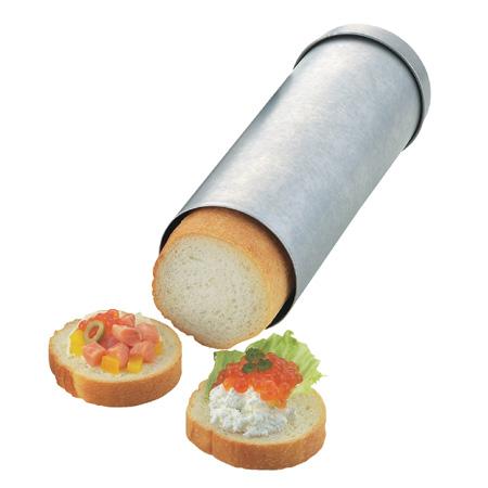 タイガークラウン カナッペ型 パン型 至上 爆買い新作 抜き型 サークルブレッド 代引不可 丸