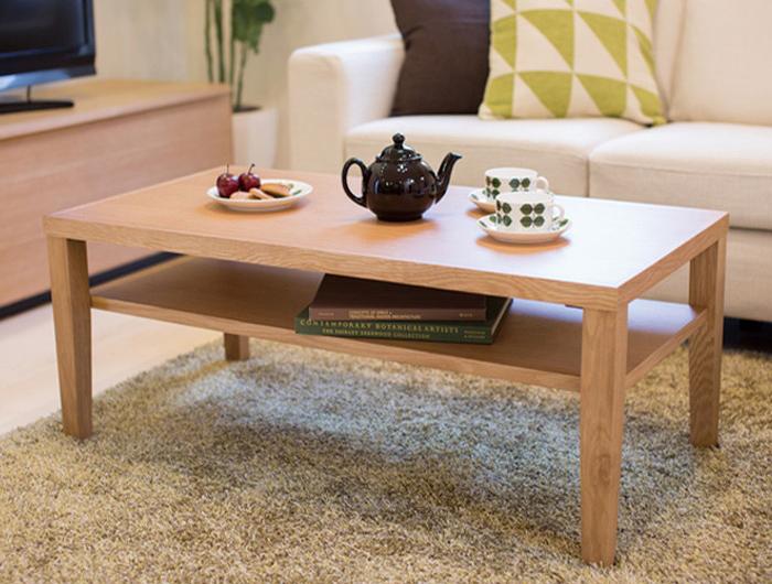 リビング テーブル ローテーブル センターテーブル カフェ 北欧 収納 (シーマ)センターテーブル(代引不可)【送料無料】