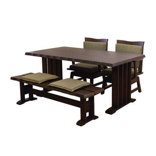 ダイニングテーブル4点セット ダイニングセット 4人掛け 伊吹 ダイニング4点セット (150幅/4人掛け用)(代引不可)【送料無料】