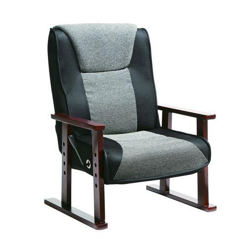 チェア チェアー リクライニングチェア ココロ リクライニングチェア 高座椅子 脚付き座椅子(代引不可)【送料無料】