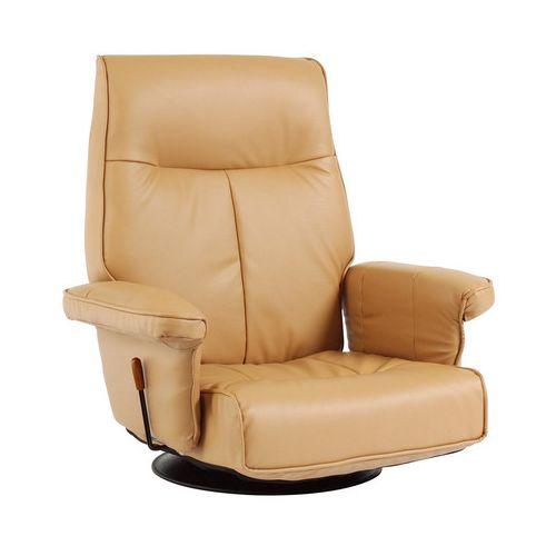 チェア チェアー リクライニングチェア ラボンヌ フロアチェア座椅子 リクライニング座椅子 360度回転(代引不可)【送料無料】
