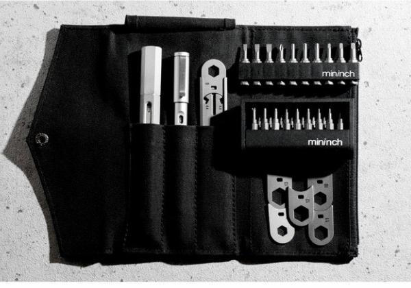 マルチ工具 ツールペンミニ フルセット スノーシルバー mininch mininch-full-silver【送料無料】