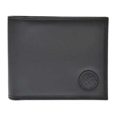 ハンティングワールド 310 13A BATTUEOR BLACK 二つ折り財布(小銭入れ付) HUNTING WORLD/ハンティングワールド/二つ折り財布(小銭入れ付)/二つ折り財布/BLACK/BATTUE ORIGIN/メンズ/310 13A