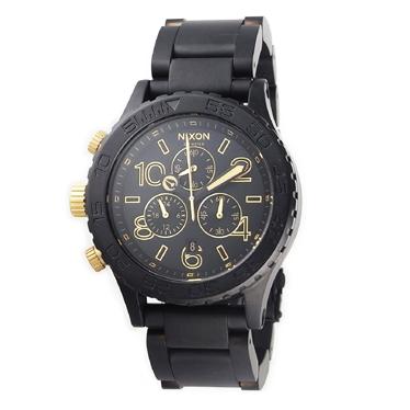 ニクソン NIXON 腕時計 THE 42-20 CHRONO A0371041 メンズ 【送料無料】