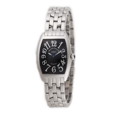 フランクミュラー FRANCK MULLER 腕時計 トノーカーベックス 1752 QZ O BLK レディース 【送料無料】