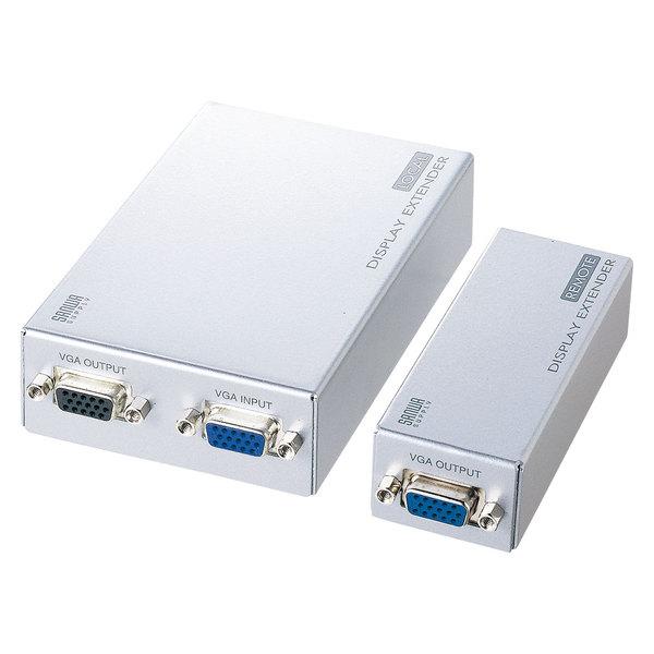 サンワサプライ ディスプレイエクステンダー(セットモデル) VGA-EXSET2【送料無料】 (代引不可)