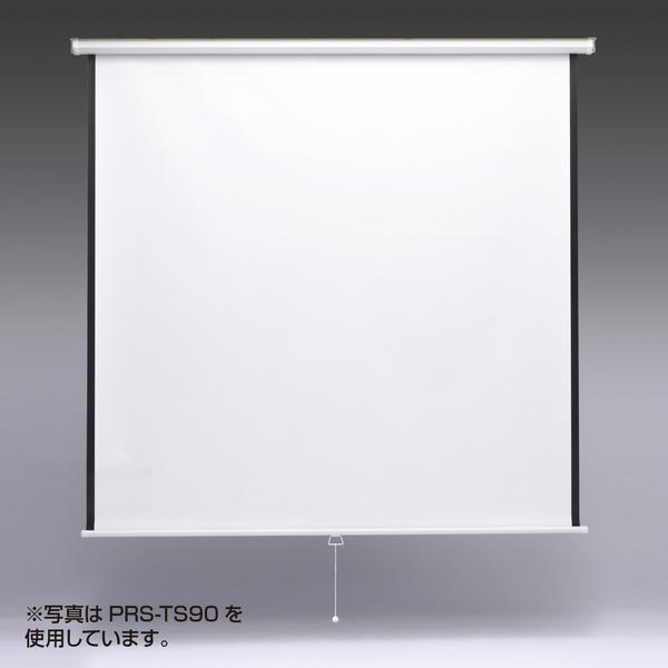 サンワサプライ プロジェクタースクリーン(吊り下げ式) PRS-TS80【送料無料】 (代引不可)