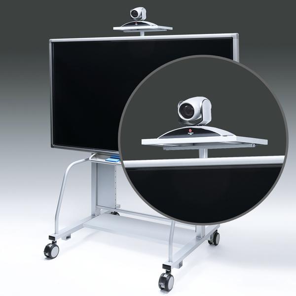 サンワサプライ 液晶・プラズマTVスタンド用TV会議カメラ設置台(CR-PL20専用) CR-PL20CT【送料無料】 (代引不可)
