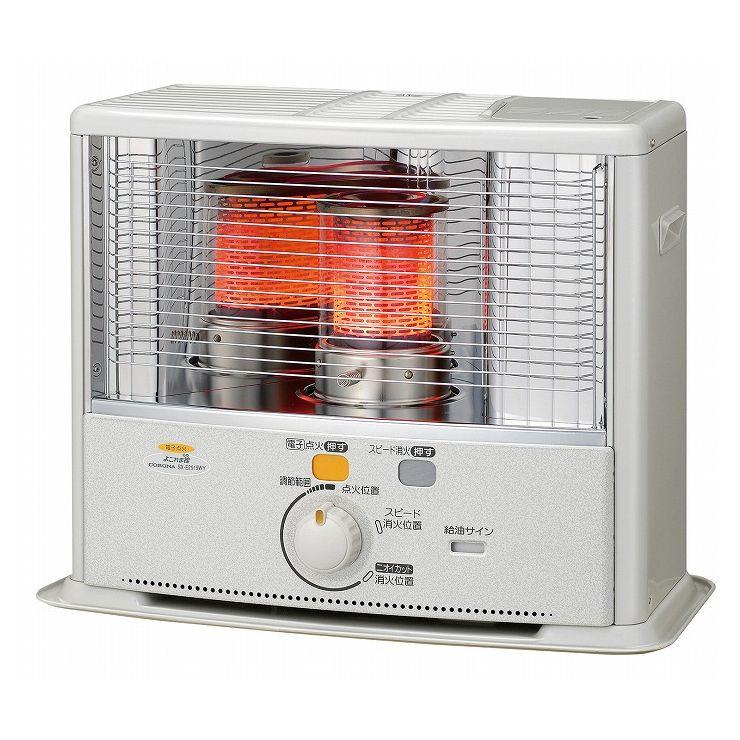 暖房 石油ストーブ SX-E2919WY(W)よごれま栓タンク 暖房器具(代引不可)【送料無料】