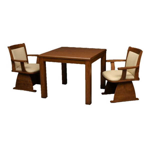 丸栄木工所 こたつ テーブル 正方形 ダイニングコタツ(イス別売) 80×80cm TMK-80BR(代引不可)【送料無料】