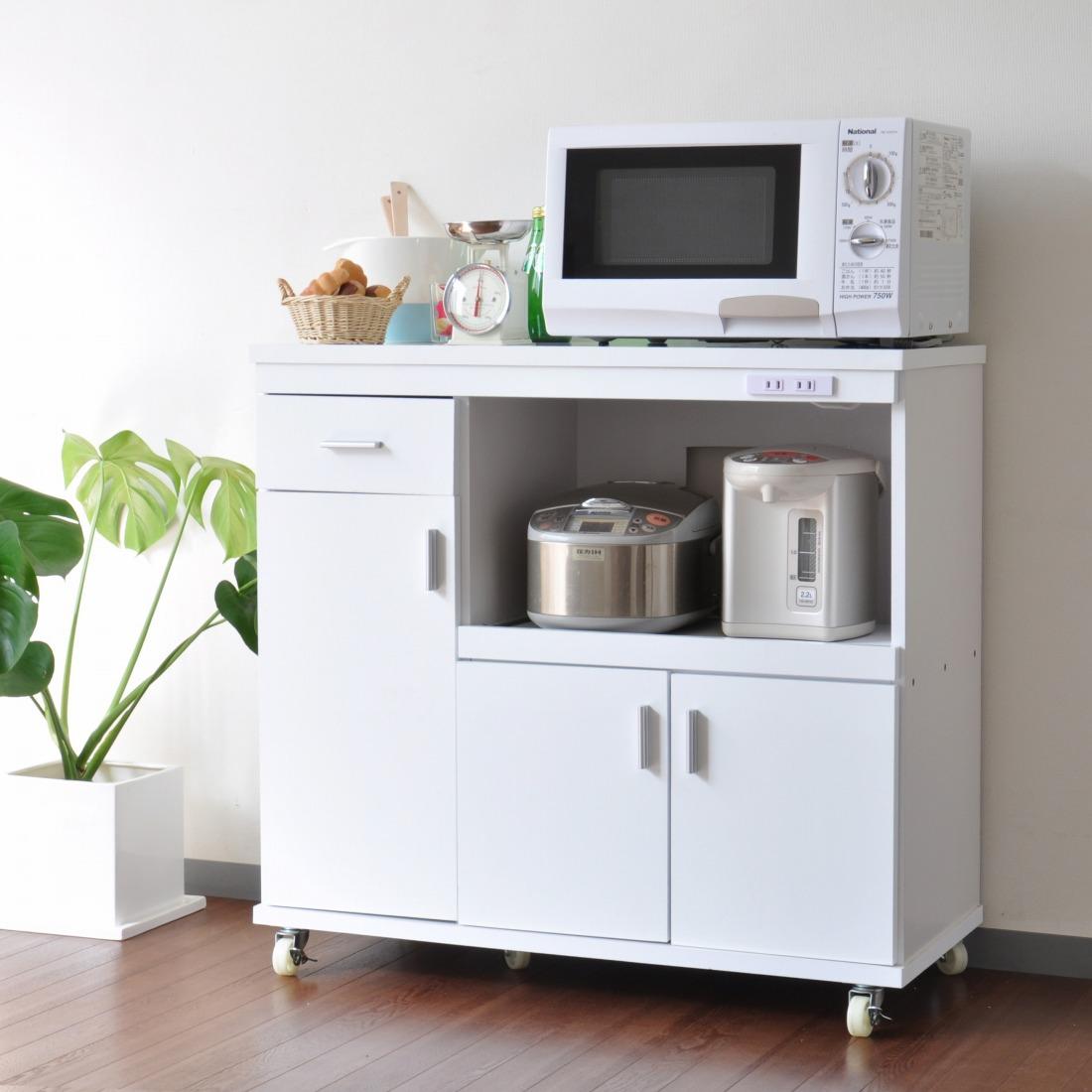 キッチンキャビネット ルミナーレ HN-9090RE(代引き不可)