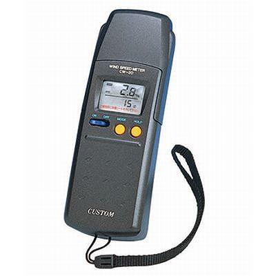 素敵な 【10分間平均表示機能付】 (CW-20):リコメン堂インテリア館 デジタル風速計 custom(カスタム)-DIY・工具