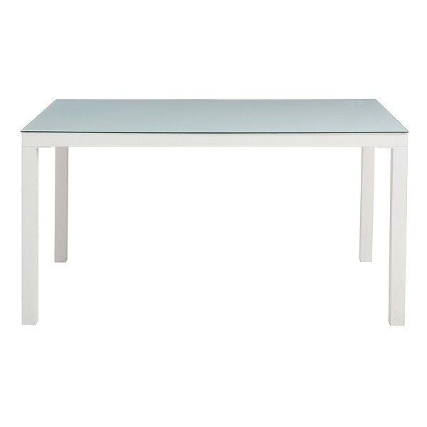 あずま工芸 ARGANO(アルガノ) ダイニングテーブル135 (ホワイト)(代引不可)【送料無料】【int_d11】