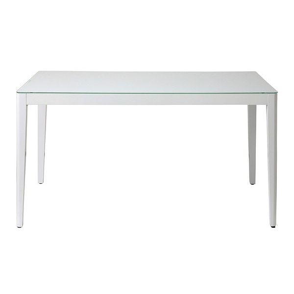 あずま工芸 WiTH(ウィズ) ダイニングテーブル135 (ホワイト)(代引不可)【送料無料】