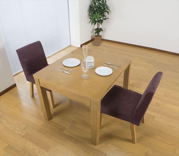 テーブル ダイニングテーブル 伸長式 ダイニングテーブル ダイニング キッチン キッチンテーブル 食卓 北欧 シンプル 伸びる(代引不可)【送料無料】