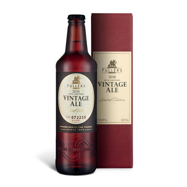 フラーズ ヴィンテージ エール2016 500ml/瓶 ヴィンテージエール ビール イギリス 【1ケース販売:12本入り】【送料無料】