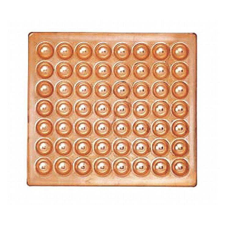 カンダ ディスカウント ?銅製たこ焼天板 56穴 セットアップ 067047