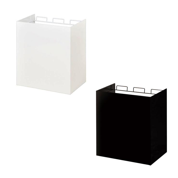 【日本製】 kakusu レジ袋ダストボックス-3分別 ダストボックス ゴミ箱 分別 レジ袋 おしゃれ シンプル(代引不可)【送料無料】