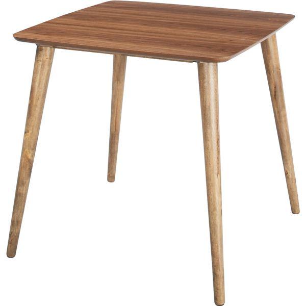 【ぬくもり家具】Tomteトムテ 天然木ダイニングテーブル TAC-241WAL【送料無料】