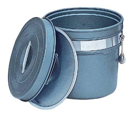 国産品 アルマイト 段付二重食缶 (内外超硬質ハードコート) 245-H 6L(), Mafmof(マフモフ) 6266c114