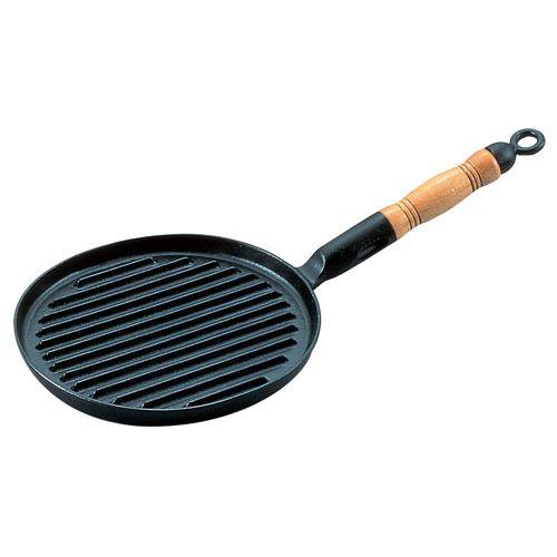 アサヒ 鉄鋳物網焼ステーキパン AST33