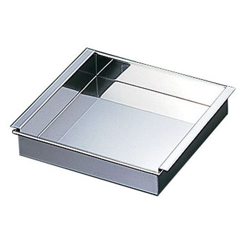 野崎製作所 18-8アルゴン溶接 玉子豆腐器 販売期間 限定のお得なタイムセール 33cm ATM2033 関東型 希少