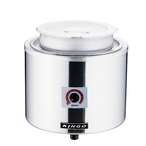 KINGO 湯煎式電気スープジャー 7L D9001 DSC2701