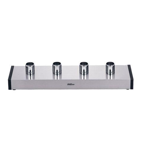 山岡金属 サイフォンガステーブル SSH-502S D(2連) LPガス FSI011【送料無料】