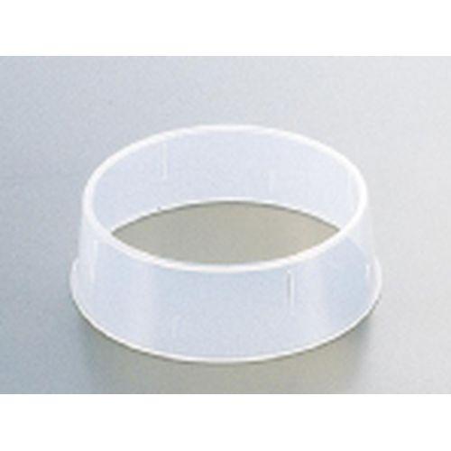 エンテック 抗菌丸皿枠 ポリプロピレン 春の新作 NMR42003 W-3 23~25cm用 初売り