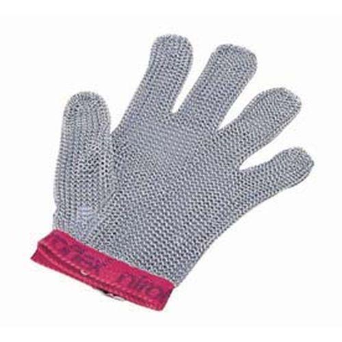 ニロフレックス メッシュ手袋5本指 L L5(青) STB6501