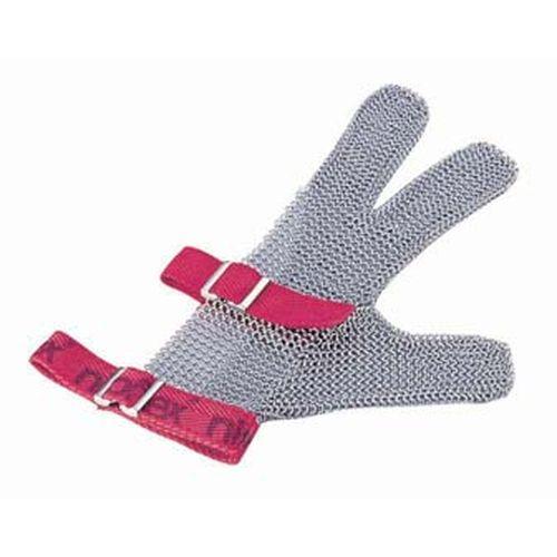 ニロフレックス メッシュ手袋3本指 M M3(赤) STB6702