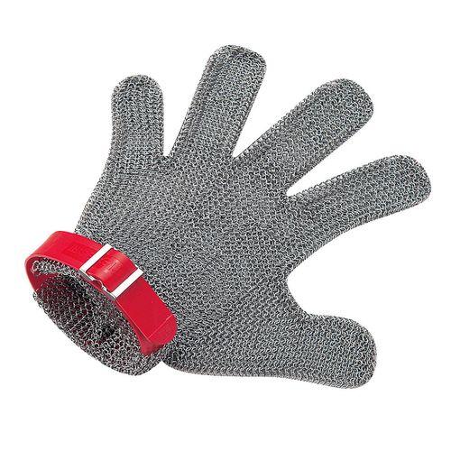 ニロフレックス メッシュ手袋5本指 M M5L-EF 左手用(赤) STBD803【送料無料】