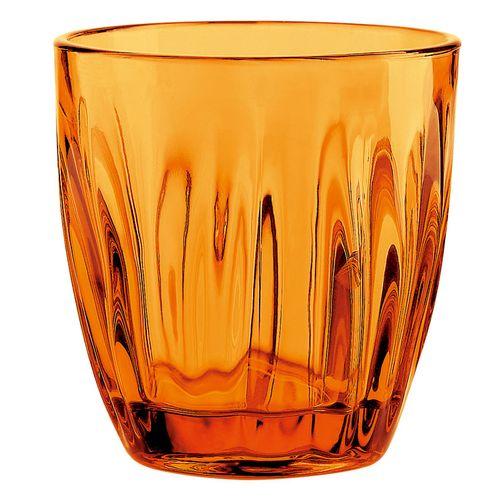 送料無料 正規逆輸入品 グッチーニ グラス 2496 230cc 期間限定特別価格 RGTV105 6ヶ入 オレンジ