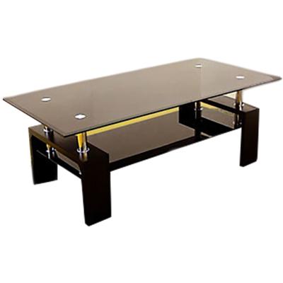 リビングテーブル ガラステーブル105 ピース(代引き不可)【送料無料】【S1】
