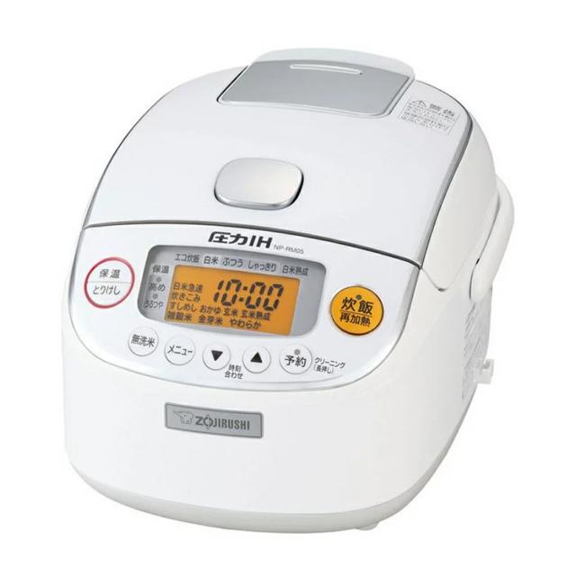 象印 圧力IH炊飯ジャー 3合 極め炊き NP-RM05-WA ホワイト 炊飯器 IH【送料無料】