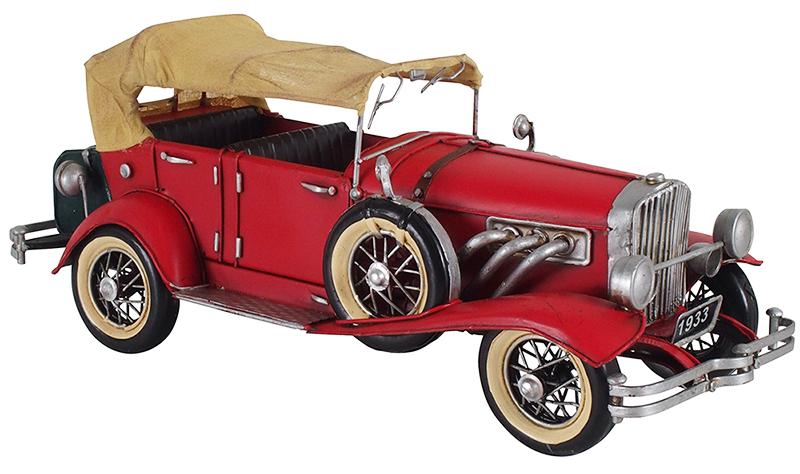 ブリキのおもちゃ B-クルマ01 クルマ 車 自動車 昭和レトロ ブリキ おもちゃ 玩具 置物 インテリア(代引不可)【送料無料】【int_d11】