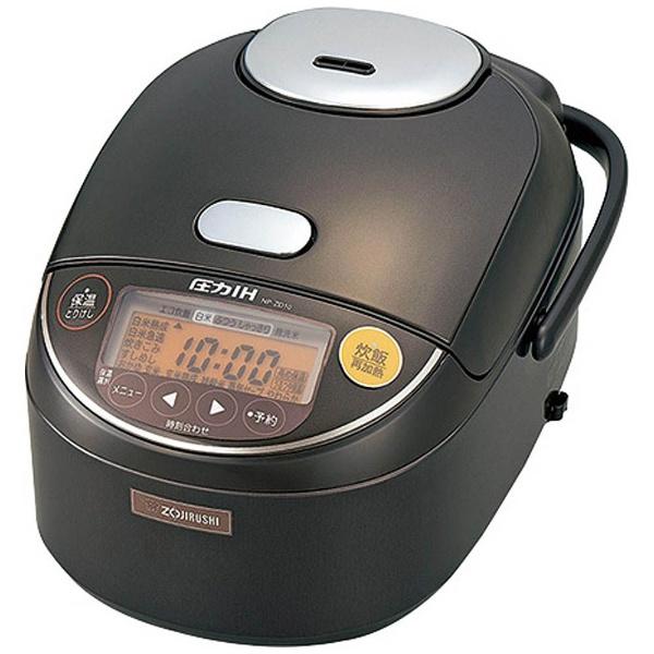 象印 圧力IH炊飯ジャー 極め炊き NP-ZD10 TD 5.5合炊き【送料無料】