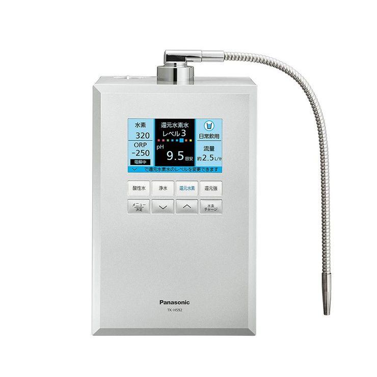 パナソニック 還元水素水生成器 シルバー TK-HS92-S 浄水器 整水器 水素水【送料無料】