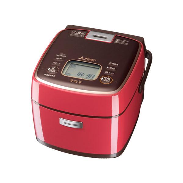 三菱電機 IH炊飯器 3.5合 備長炭 炭炊釜 NJ-SE069-P ラズベリーピンク【送料無料】