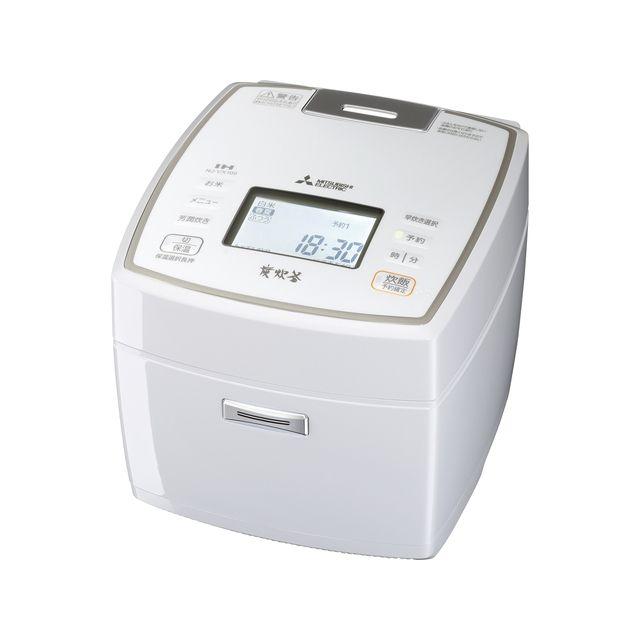 三菱電機 IH炊飯器 炭炊釜 5.5合 NJ-VX109-W ピュアホワイト IH 炊飯ジャー【送料無料】