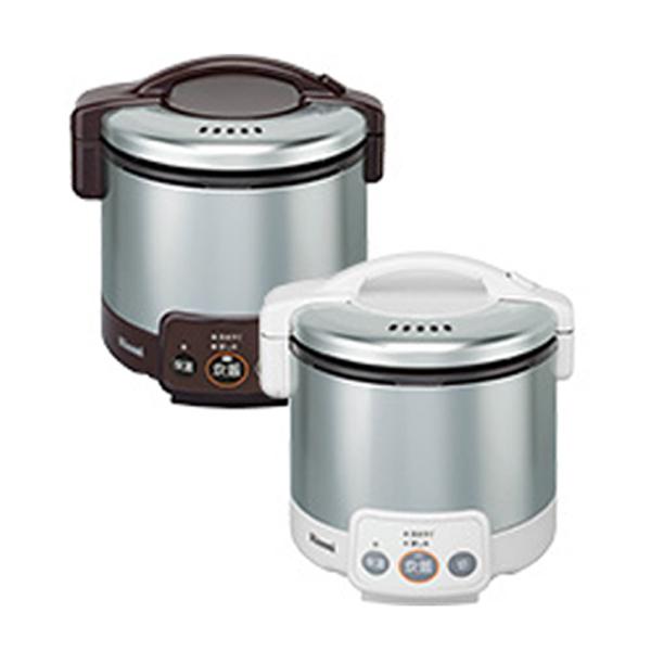 リンナイ こがまる ガス炊飯器 VM LPガス用 RR030VM-DB-LPG ダークブラウン