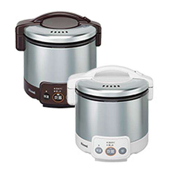 リンナイ こがまる ガス炊飯器 VM LPガス用 RR030VM-W-LPG ホワイト