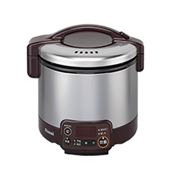 リンナイ こがまる ガス炊飯器 VMT LPガス用 RR030VMT-DB-LPG ダークブラウン【送料無料】